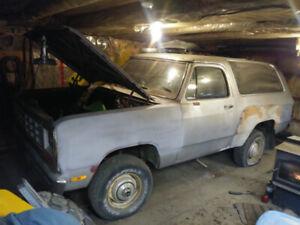 1981 Dodge Ramcharger 4x4