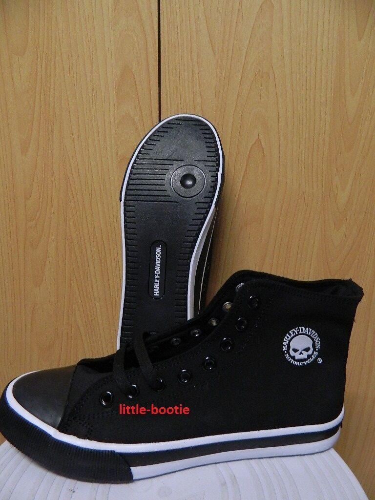 Harley-Davidson Sneaker Herren Schuhe Boots Leder schwarz 42/43/44 93341 Baxter