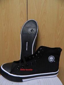 Details zu Harley Davidson Sneaker Herren Schuhe Boots Leder schwarz 42 od.45 93341 Baxter