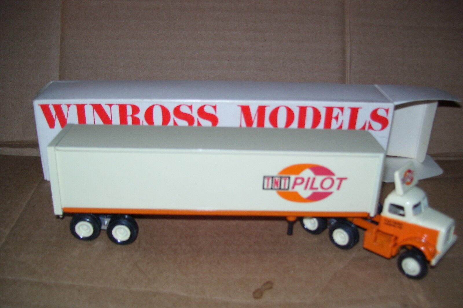 1985 pilote TNT Logo  WINROSS Diecast livraison Remorque Camion  promotions passionnantes