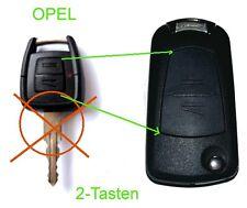 Umbausatz auf Klappschlüssel 2-Tasten Astra G Corsa Vectra Zafira Schlüssel OPEL