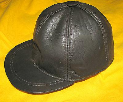 Baseball Cap 100% Leder