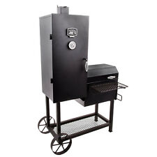 Char Broil Oklahoma Joeu0027s Bandera Vertical Offset Backyard Barbecue Smoker  Grill