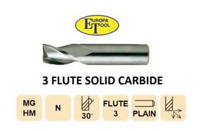 12mm Carbide slot trapano End Mill 3 Flute Europa Strumenti di Engineering 3043031200