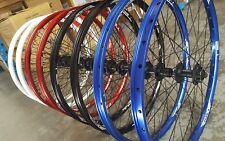 "Halo T2 DISC Wheels PAIR (Front + Rear) 26"" Mountain Bike 8 9 10 speed SHIMANO"