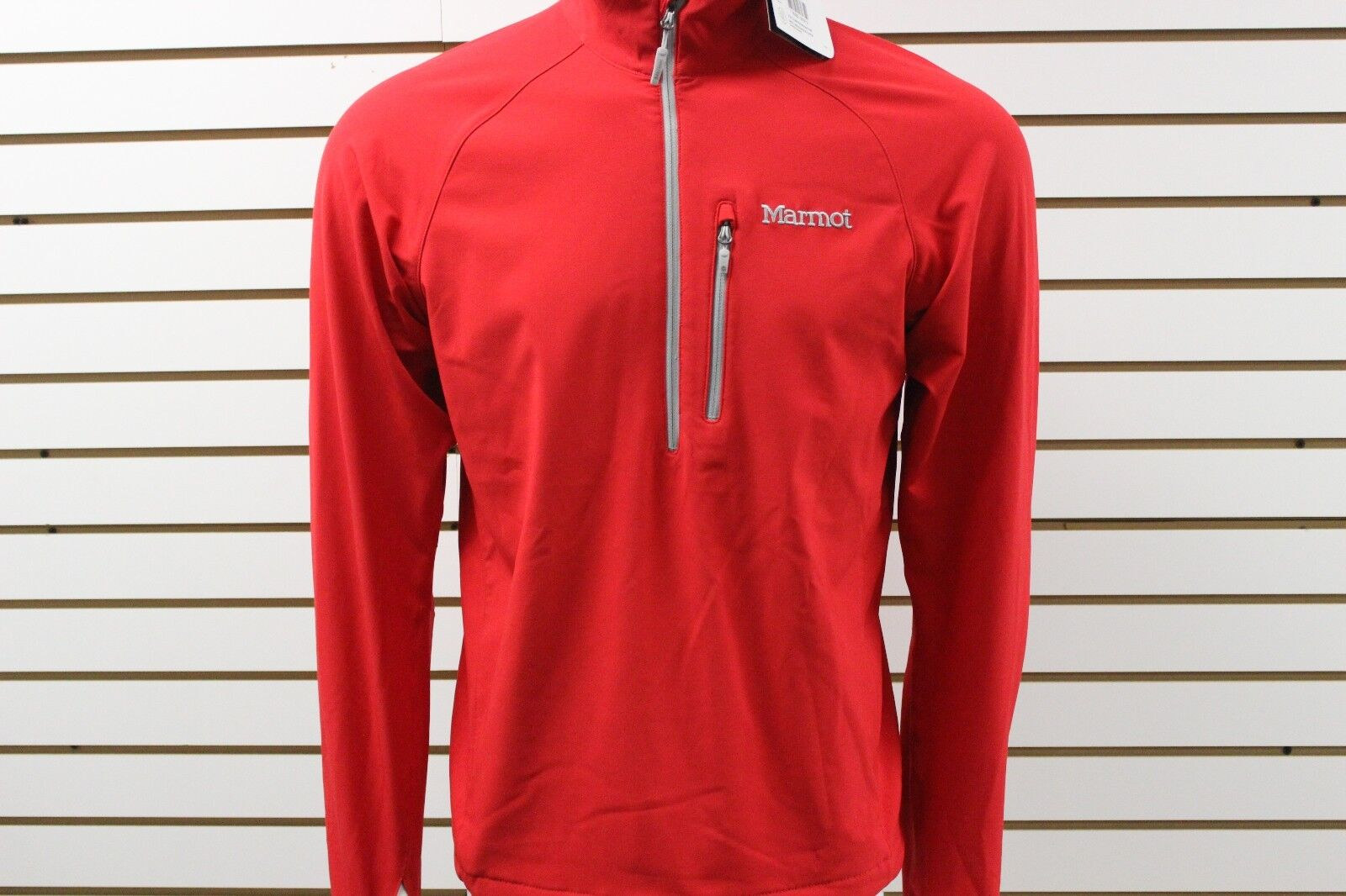 Men's Marmot M3 Softshell Tempo 1 2 Zip Team Red 80120 Brand New With Tag