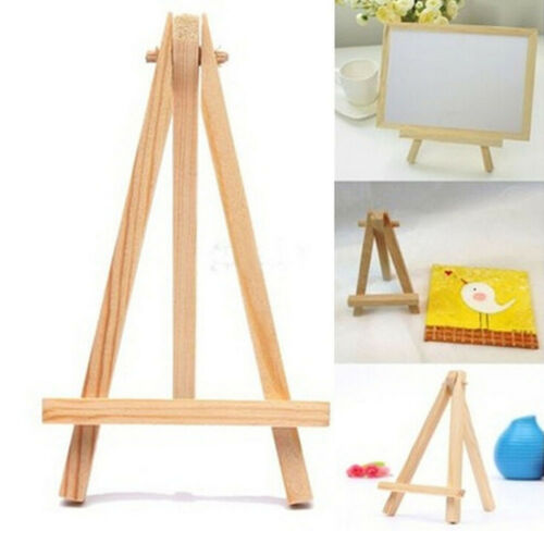 1Pcs Mini Artist Wooden Easel Wood Wedding Table Card Stand Display Party Decor