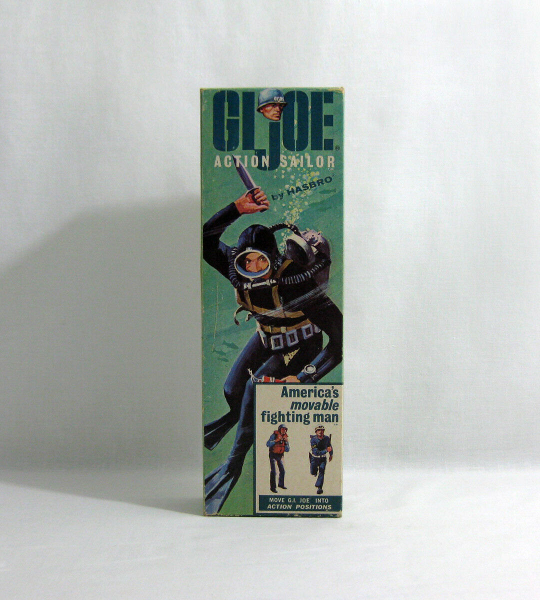 C1965 vintage G.I JOE ✧ Action Sailor ✧ Hasbro TM R Action Man Vam