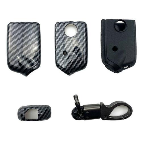 CARBONIO Silicone Auto Smart Remote Key Case titolare per Cover Kia Stinger K900 2018
