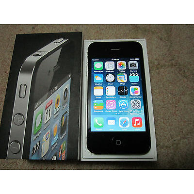 Apple iPhone 4 - 32GB - Black - Factory - Unlocked - Smartphone For ATT- TMobile