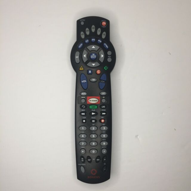 Rogers 1056B03 PVR DVR DVD TV Cable Universal Remote Control Tested