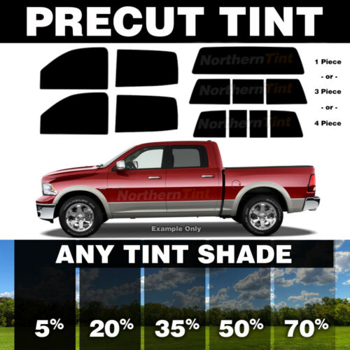 todas as janelas qualquer sombra Pré-cortada Janela Tint Para Dodge Dakota Quad Cab 00-04