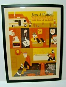 BREAKING-BAD-Numbered-and-Artist-Signed-Framed-Poster-Art-BETTER-CALL-SAUL