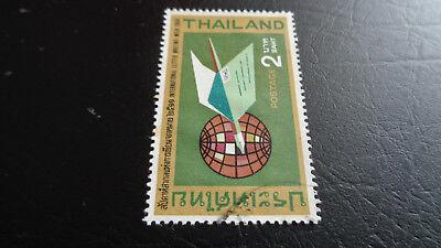 Obligatorisch Thailand Postal, 1968, Int. Briefwoche 1968, Gestempelt