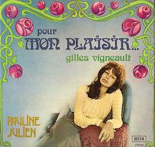 """PAULINE JULIEN """"POUR MON PLAISIR... GILLES VIGNEAULT"""" LP 1973 DECCA 278.030"""