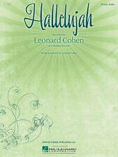 Hallelujah Sheet Music Piano Solo NEW Leonard Cohen 000142890