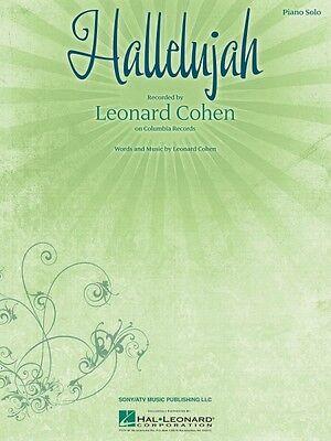 Hallelujah Sheet Music Easy Piano NEW Leonard Cohen 000110162