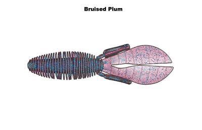 "Missile Baits MBDB45-BRPL D-Bomb Bruised Plum 4.5/"" Soft Plastic Fishing Lure"