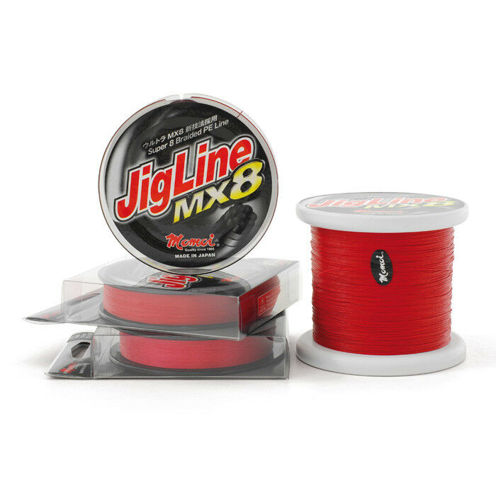JIGLINE MX8  RED 1000MT 0,33MM  sale online discount low price