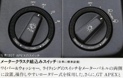 Toyota AE86 Instrument Decal Kit Symbols-Kit