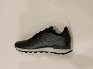 new style 348b7 98555 Image is loading Nike-Internationalist-Jacquard-Winter -859544-002-Hematite-Black-
