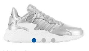 Womens Adidas Uk 5 Silver Trainers