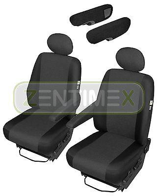 Sitzbezüge Schonbezüge SET ACC VW T4 Transporter Stoff schwarz