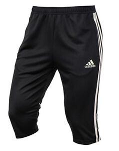 Violín aterrizaje maduro  Adidas Men Tango 3/4 Training Shorts Pants Black Soccer Football Pant  CD8317 | eBay