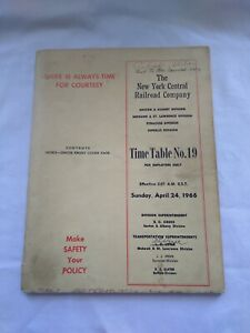 1966-New-York-Central-Railroad-Co-Employee-Time-Table-No-19-Boston-Albany
