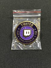 Twitch Exclusive Pin - PAX 2014 - Rare - New - Twitch.TV