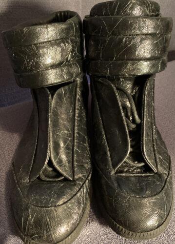 Maison Margiela Black Leather Shoes Size 10