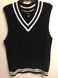 Blue Ocean Cable Sweater Vest