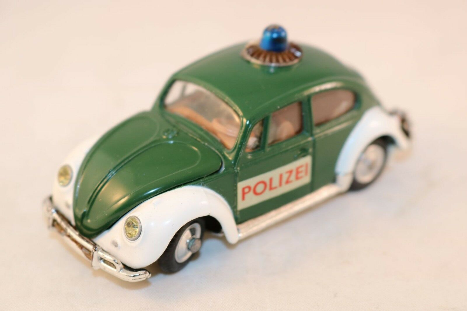 Corgi Toys 492 Volkswagen 1200 Kafer Police Car. 'POLIZEI' very near mint