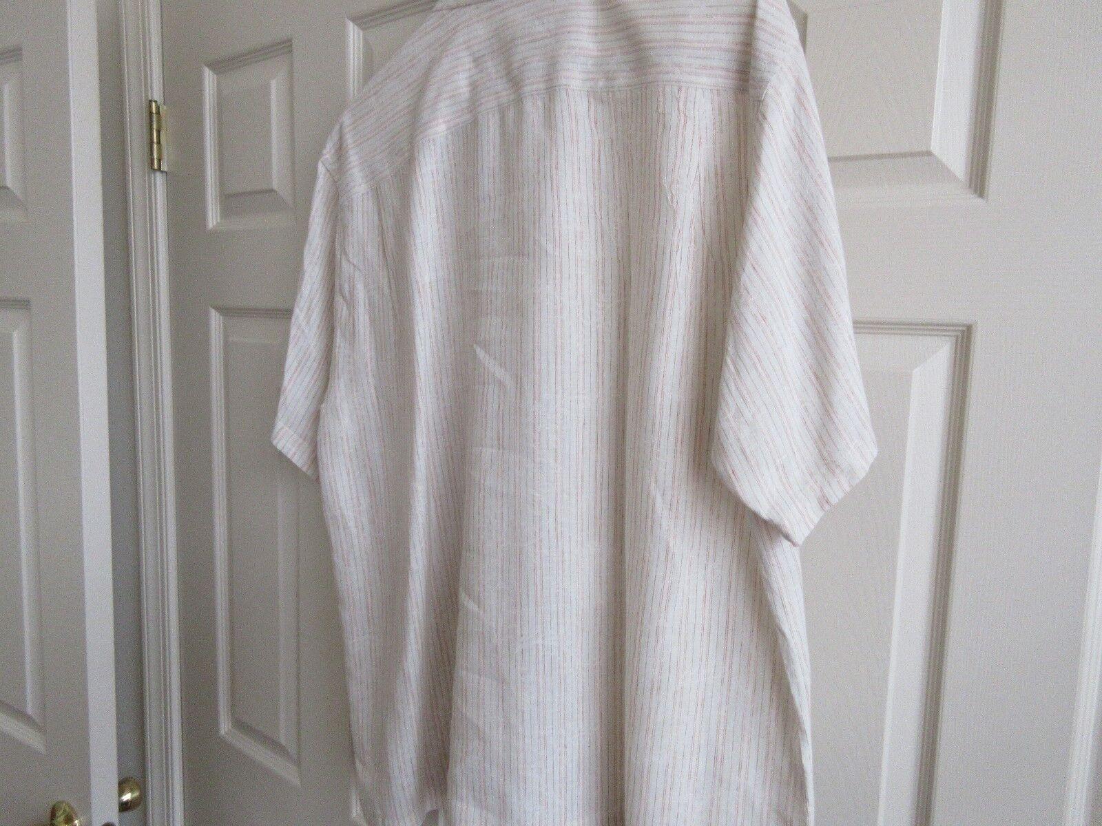 Tommy Bahama , Size XL , Men's Short Sleeve Shirt , 100