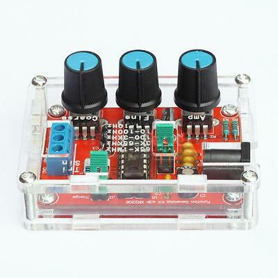 XR2206 1HZ-1MHZ Function Signal Generator Kit Sine/Triangle/ Square Output N2E6