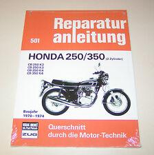 Reparaturanleitung Honda CB 250 K2/ CB 250 K3/ CB 250 K4/ CB 350 K4 - ab 1970 !