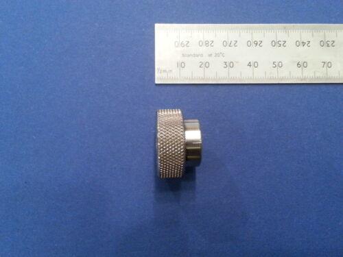 Thumb Nut M6 Thread Through Knurled 316 L Stainless Steel Quality Marine Grade