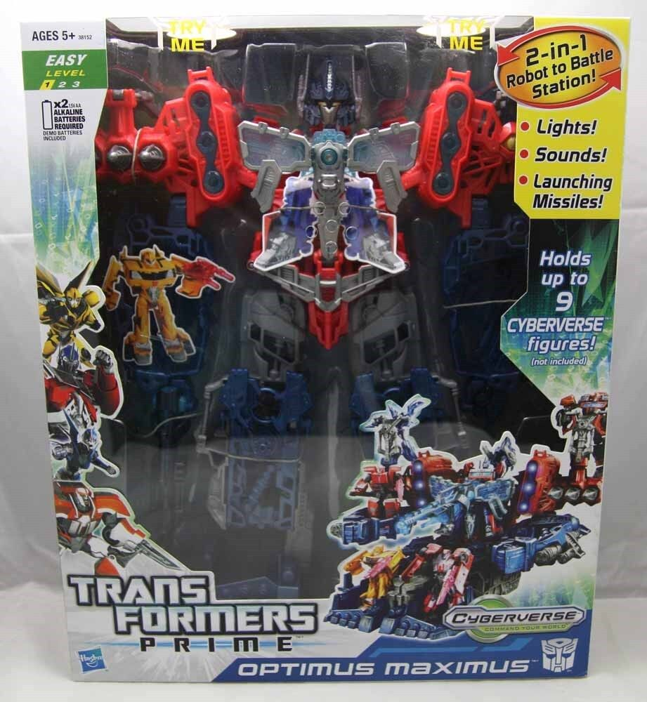 Transformers Prime Cyberverse 'OPTIMUS MAXIMUS' by Hasbro 2012