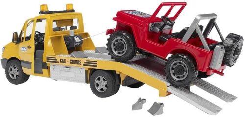 Bruder 2535 Carro attrezzi Mercedes Sprinter con Jeep