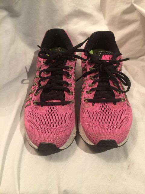 promo code 7e214 0ce7e NIKE WOMEN S AIR ZOOM PEGASUS 32 Running Shoes SIZE 8.5 M pinkpow black volt