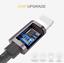 CAVO-USB-3-1-TYPE-C-SMARTPHONE-RICARICA-DATI-VELOCE-SAMSUNG-GALAXY-HUAWEI-90 miniatura 5