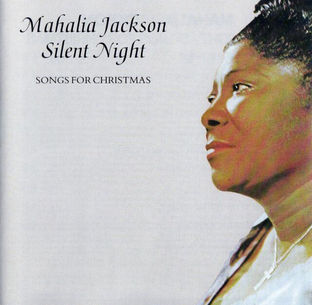 MAHALIA JACKSON : SILENT NIGHT - SONGS FOR CHRISTMAS / CD - TOP-ZUSTAND