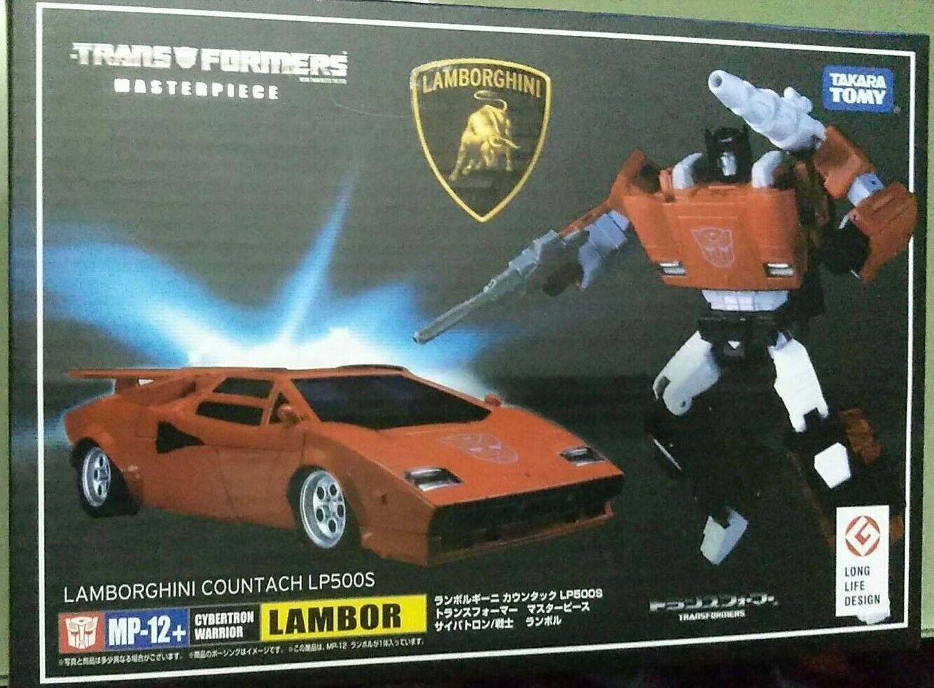 Takara Transformers Masterpiece MP-12 Sideswipe Lambor G1 Color Acti