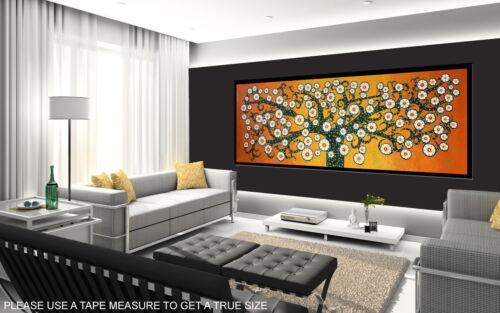 150cm x 50cm on Canvas print art painting  tree of life landscape not aboriginal