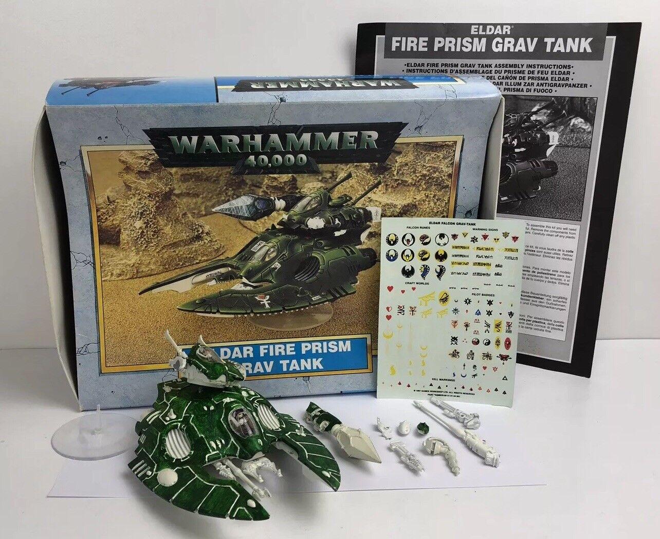 Warhammer 40K Eldar Fire Prism Grav Tank Boxed