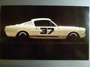 1964 Ford Mustang GT-350 Coupe Print, Picture, Poster RARE!! Awesome L@@K