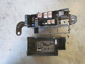 2003 Subaru Baja Under Hood Fuse Box | eBay