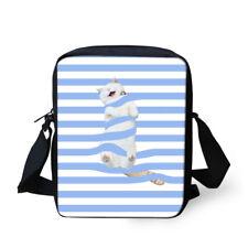 Cat Shoulder Satchel Crossbody Small Messenger Schoolbag Purse Hand Bag Kids