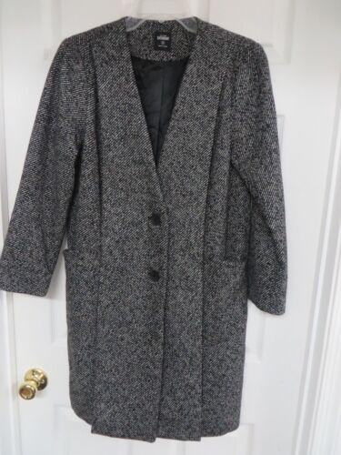 KATE SPADE SATURDAY  Wool blend Tweed Black/gray C