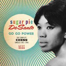 "SUGAR PIE DeSANTO  ""GO GO POWER - THE COMPLETE CHESS SINGLES 1961-1966""  R&B"